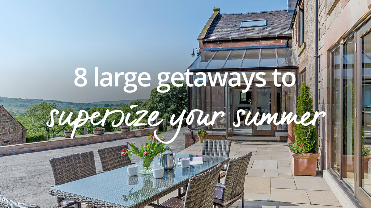 large summer getaways