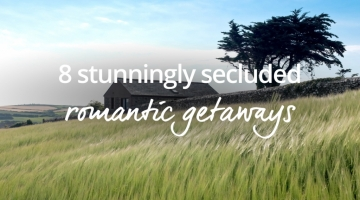 Secluded romantic getaway
