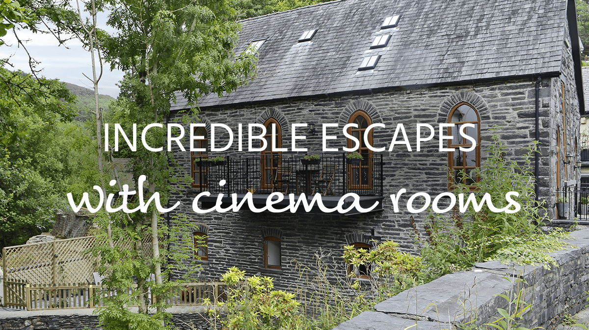 cottages with cinema rooms